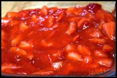 Homemade Strawberry Filling: Perfect for Pies!!!!