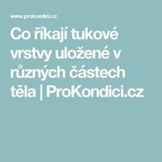 Co říkají tukové vrstvy uložené v různých částech těla | ProKondici.cz