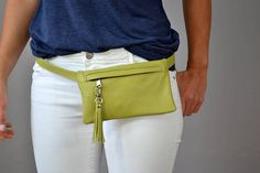 Leather Fanny Pack Fanny Pack Leather Hip Bag Leather waist