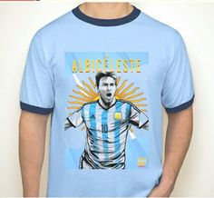 Argentina & Messi World Cup T-shirt Messi World Cup, Tank Tops, T Shirt, Men, Countries, Buenos Aires Argentina, Tee, Crop Tank, Guys