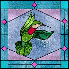 Stained_Glass_Hummingbird.jpg 733×730 pixels