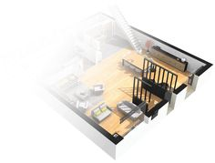 Students design then describe their ideal home. 3d Home Design, House Design, Interior Design, Kitchen Tops, Kitchen Decor, Kitchen World, Little Kitchen, Kitchen On A Budget, Architecture