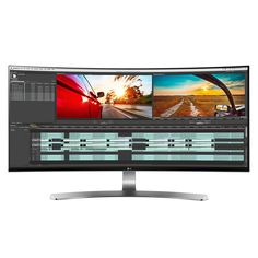 LG 34UC98-W 34-Inch 21:9 Curved UltraWide QHD IPS Monitor with Thunderbolt