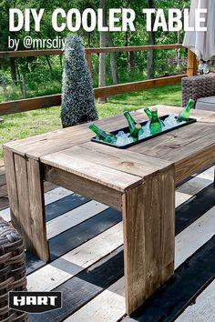 Backyard Patio Designs, Backyard Projects, Diy Patio, Diy Wood Projects, Furniture Projects, Home Projects, Diy Outdoor Furniture, Outdoor Decor, Outdoor Entertaining