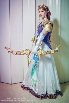 Post with 0 votes and 1219 views. [Self] Twilight Princess Zelda cosplay! Link Cosplay, Epic Cosplay, Cosplay Diy, Cosplay Dress, Amazing Cosplay, Cosplay Outfits, Cosplay Costumes, Couples Cosplay, Cosplay Girls