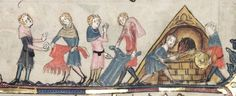 MS. Bodl. 264 The Romance of Alexander in French verse 1338-44; with two sections added in England c. 1400 Folio 83r