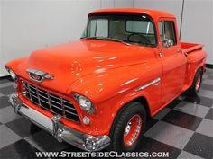 55 Chevy Truck, Chevrolet 3100, Truck Camper, Classic Pickup Trucks, 1955 Chevy, Gm Trucks, Chevy Pickups, Cool Cars, Classic Cars