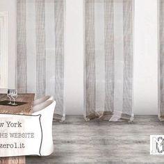 Per una casa in stile #fresco e #moderno, la #tenda New York fa al caso vostro! / For a fresh and modern home, New York curtain is for you!! #fresh #modern #home #casa #interiors #interiordesign #interni #designideas #designinterni #homedecor #homedecoration #homedesign #decorazionicasa #decor #curtains #grey #stripes #grigio #righe