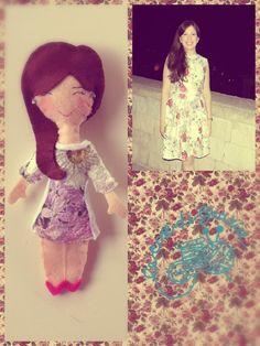 """Doll vintage by """"Le cose di Grazia"""""""
