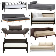 Small Space Sleeping: 8 Favorite Daybeds