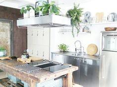 My #industrialvintage #kitchen #industrialkitchen