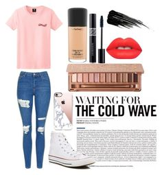 Casual statement by mbug-1 on Polyvore featuring polyvore, fashion, style, Topshop, Converse, Casetify, Urban Decay, MAC Cosmetics, Lime Crime, Christian Dior and clothing
