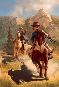 Western Cover by thegryph.deviantart.com on @deviantART