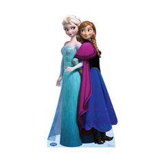 Advanced Graphics Disney's Frozen Life Size Cardboard Cutout Standup Frozen Film, Frozen Elsa And Anna, Elsa Anna, Olaf Costume, Anna Costume, Halloween Costumes, Anna Disney, Disney Frozen Elsa, Disney Rapunzel