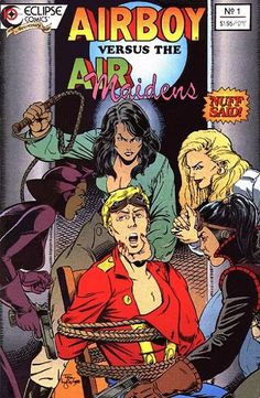 Airboy versus the Airmaidens #1 (July 1988)