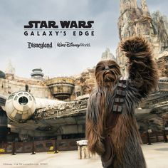 Come live your very own Star Wars™ story in a whole new land where a galaxy far, far away unfolds all around you. Welcome to Star Wars: Galaxy's Edge, now open at Walt Disney World® Resort and Disneyland® Resort. Disney World Vacation Packages, Family Vacation Packages, Walt Disney World Vacations, World Star, Florida Vacation, Disneyland Resort, Far Away, Star Wars, Stars