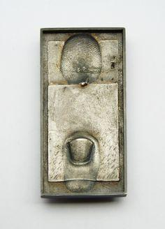 """Fermall plata i pàtina serie """"dits"""" 1981"""