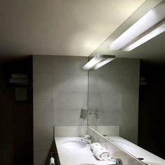 Opal Led de #PujolIluminación Luz Led, Bathroom Lighting, Opal, Sink, Bathtub, Minimalist, Interior Design, Mirror, Simple