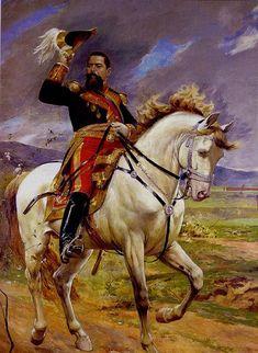 Retrato ecuestre del General Joaquín Crespo - Arturo Michelena, 1897