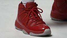 Chris Paul Rockets Jersey Air Jordan 11 PE (2) Jordan 11 Red 49eab1ae98