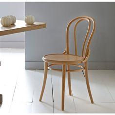 Set of 2 Inqaluit Bistro Style Beech Chairs La Redoute Interieurs | La Redoute Mobile