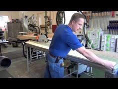 Having Square Edges On Your Boards Sure Makes Woodworking A Heck Of A Lot Easier. Aquarium Stand, Woodworking Inspiration, Woodworking Videos, Great Videos, For Everyone, Creative Inspiration, Metal Working, Wood Projects, Carving