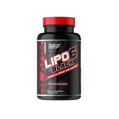 Nutrex Research Lipo-6 Black Extreme Potency | Poderoso suplemento de perda de peso, inibidor de apetite, pílulas de ... Detox, Weight Loss, Black, Loosing Weight, Weights, Black People, Losing Weight, Loose Weight
