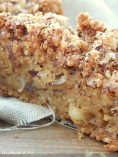Les Placards de Lise: Gâteau aux pommes et à la noisette torréfiée