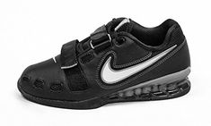 on sale 1a697 7d639 Nike Romaleos II Power Lifting Shoes - Black White Cool Grey The Nike  Romaleos 2 is a lightweight, flexible powerlifting shoe that can withstand  the unique