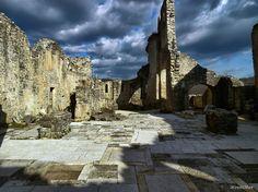 Bazilika sv. Sofije, Dvigrad, Istra. Rana romanika