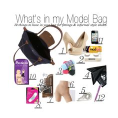 """""""What's in My JLH Model Bag?"""" by allyson-cunius on Polyvore"""