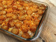 Cowboy Tater Tot Casserole. Feed this kid-friendly recipe to your little ones or your favorite cowboy. Ground beef casserole...Yeehaw!