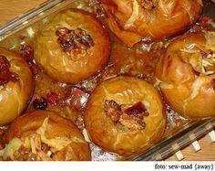 Recetas bajas calorías, exquisitas manzanas al horno - OkDietas.com