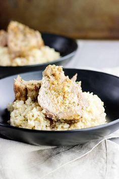 Pork Vindaloo--Simple, slow cooked pork vindaloo pot roast made with fresh ginger and assorted spices.