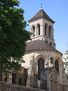 StPierreDeMontmartreFromEast - Église Saint-Pierre de Montmartre — Wikipédia