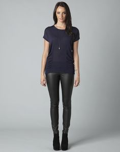 Storm+-+High+Strung+Gathered+Knit+Top+($119.00)