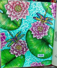 Hanna Karlzon's DayDream (Dagdrömmar) - Lillypads & Dragonflies