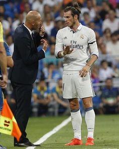 Zidane and Bale
