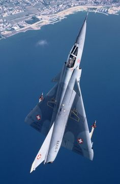 Mirage III Fighter Jet As ex fighter jet crew chief, I always enjoyed the beauty of a fighter jet. Military Jets, Military Weapons, Military Aircraft, Fighter Aircraft, Fighter Jets, Dassault Aviation, Swiss Air, Jet Plane, Space Travel