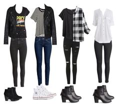 """Sarah Urie Inspired Looks"" by bittersweetcalum ❤ liked on Polyvore featuring H&M, Converse, Topshop, Calvin Klein, panicatthedisco and sarahurie"