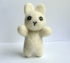 Needle felted Zombie Bunny NEW by 13Chestnuts on Etsy
