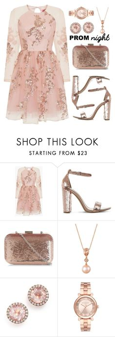 """The Perfect Prom Night"" by amchavesj-1 ❤ liked on Polyvore featuring Chi Chi, Steve Madden, New Look, LE VIAN, Dana Rebecca Designs, Michael Kors and PROMNIGHT"
