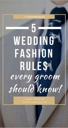Groom and groomsmen attire stressing you out for you upcoming wedding? Then PIN THIS ARTICLE right now! It gave me so many great tips for making sure the suits my groom and groomsmen wore for our wedding day looked amazing! #groom #groomsmen #7centerpieces