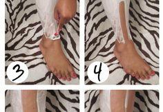 shaving legs tips