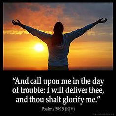 Inspirational Image for Psalms 50:15