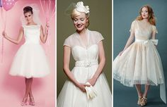 Looking for a 50s style wedding dress? We've found a whole host of new, vintage and bespoke wedding dresses from all over Ireland and the UK to help your search..