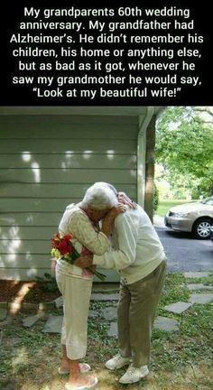 I can't wait to grow old and have a true unbreakable bond and love like this!!!