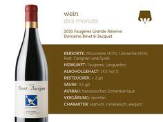 2010 Faugères Grande Réserve Domaine Binet & Jacquet  #wein #weinerleben