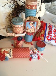 Amazing Place in Time firecracker set by Denise Hahn! Don't you just love this collection of projects? #graphic45 #4thofjuly