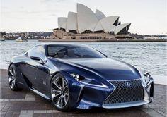 Lexus shows LF-LC Blue at Australian auto show